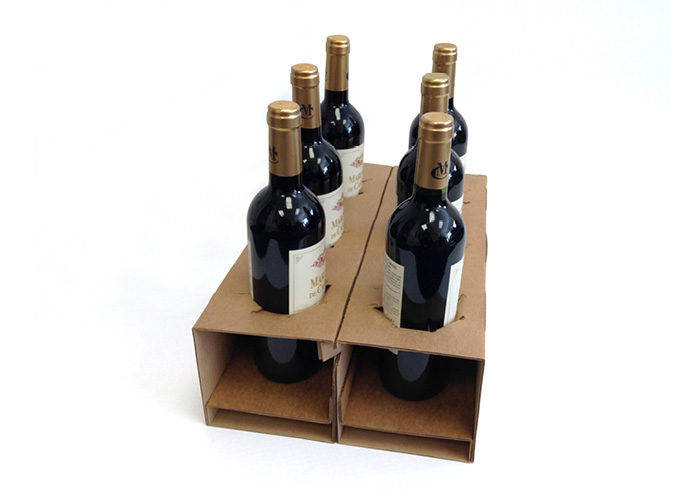 BottleSafe - Purpose designed wine bottle packaging - Caps Cases.