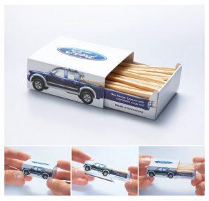 Cardboard creative packaging